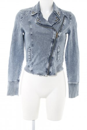 Review Sweatjacke blau Casual-Look