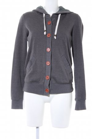 Review Sweatjacke grau Casual-Look