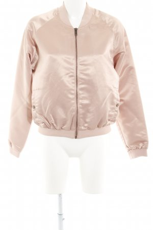 Review Sweatjacke roségoldfarben Casual-Look