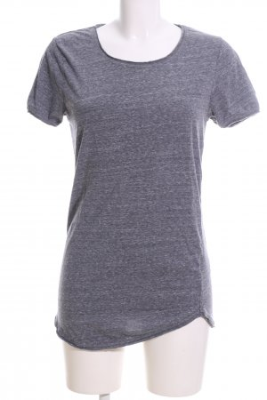 Review T-Shirt hellgrau meliert Casual-Look