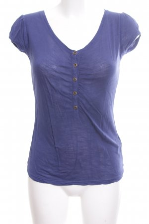 Review T-Shirt blau Casual-Look