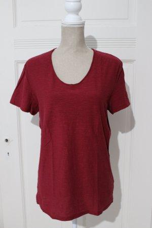 Review T-shirt multicolore coton
