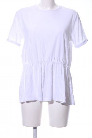 Review T-Shirt weiß Casual-Look
