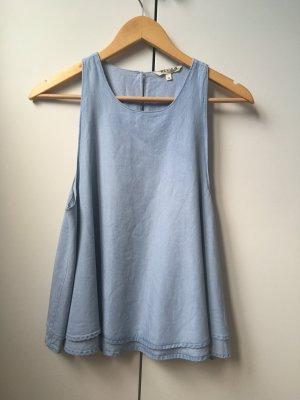 Review Top / Bluse Jeansoptik blau M