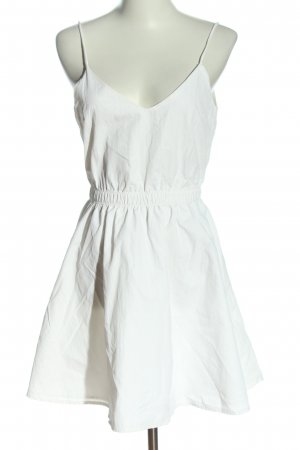 Review Robe à bretelles blanc style décontracté