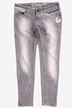 Review Used-Look Jeans grau Größe 29/32