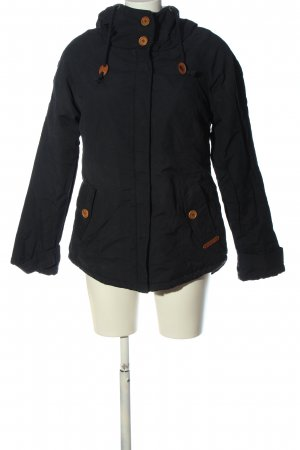 Review Giacca invernale nero stile casual