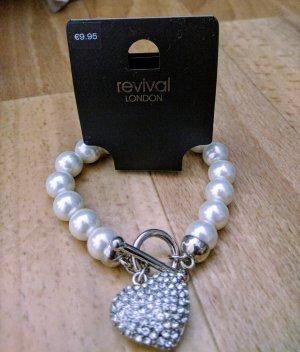 Revival London Perlen Armband Neu