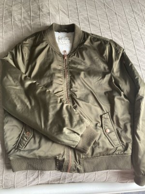 Review Giacca bomber cachi