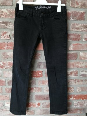 Review Pantalon taille basse noir