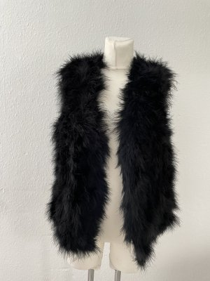 Riani Fur vest black