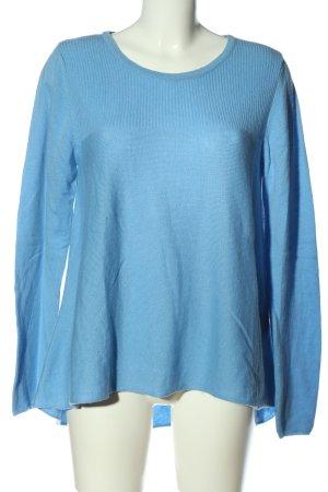 Riani Feinstrickpullover blau Casual-Look