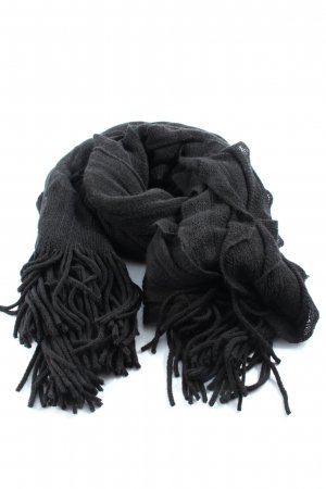 Riani Fringed Scarf black casual look