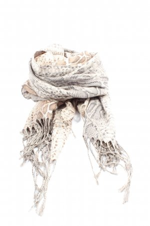 Riani Fringed Scarf allover print casual look