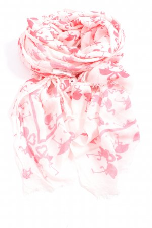 Riani Neckerchief natural white-pink allover print casual look