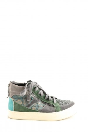Riani High Top Sneaker Allover-Druck Casual-Look