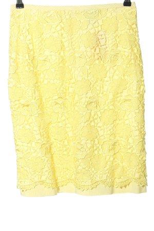 Riani Jupe taille haute jaune primevère élégant
