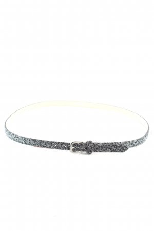 Riani Hip Belt silver-colored flecked extravagant style