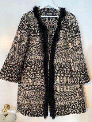 Riani Fur Jacket black-brown