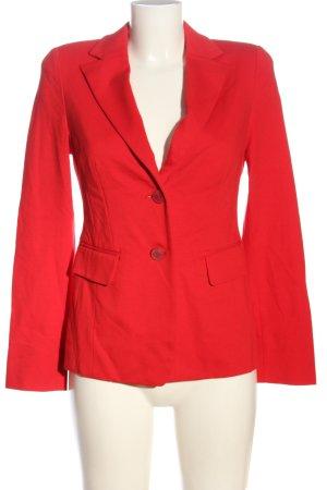 Riani Korte blazer rood zakelijke stijl