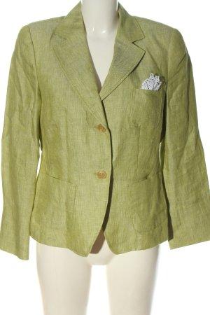 Riani Kurz-Blazer grün meliert Casual-Look