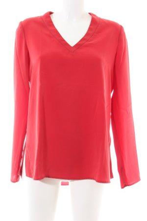 Riani Langarm-Bluse rot Casual-Look