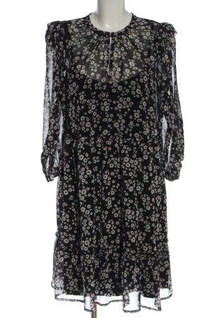 Riani Longsleeve Dress black allover print business style