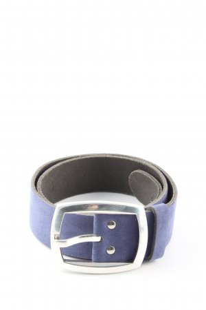 Riani Leather Belt blue casual look