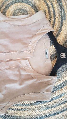 Riani Leather Vest beige
