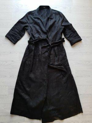 Riani Abito blusa camicia nero Lino