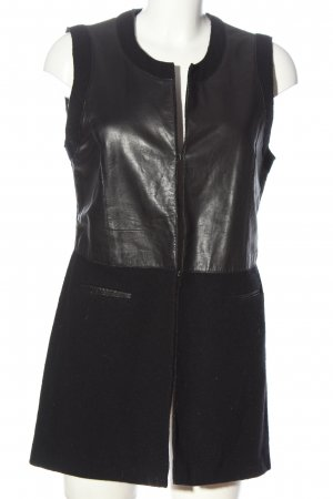 Riani Long Knitted Vest black casual look