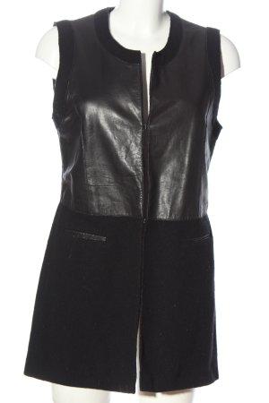 Riani Gilet long tricoté noir style décontracté