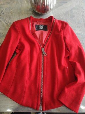 Riani Wollen blazer rood