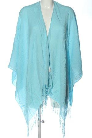 Riani Poncho azul elegante