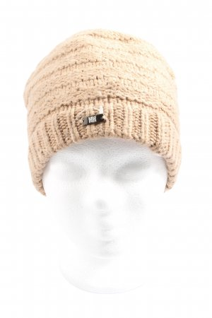 Riani Bobble Hat natural white cable stitch casual look