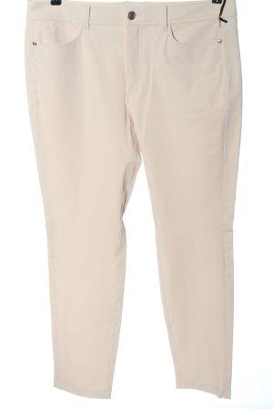 Riani Pantalone a sigaretta bianco sporco motivo a righe stile casual