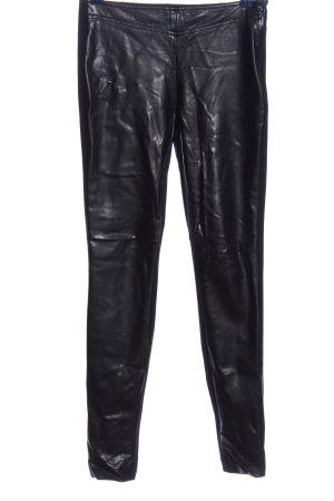 Riani Pantalon cigarette noir style décontracté