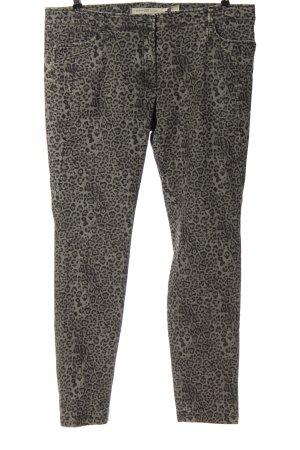 Riani Jeans a sigaretta grigio chiaro-nero stampa integrale stile stravagante