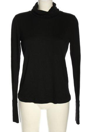 Riani Koszulka z golfem czarny W stylu casual