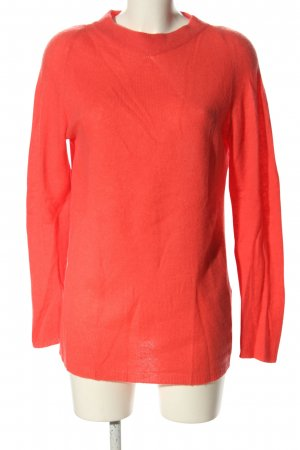 Riani Rundhalspullover rot Casual-Look