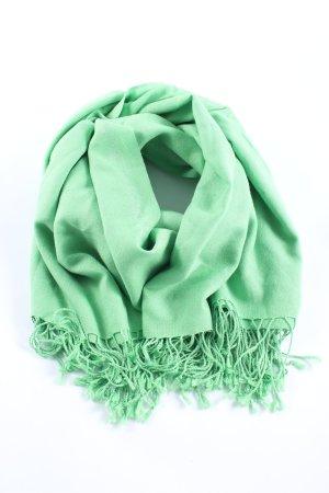 Riani Schultertuch grün Casual-Look