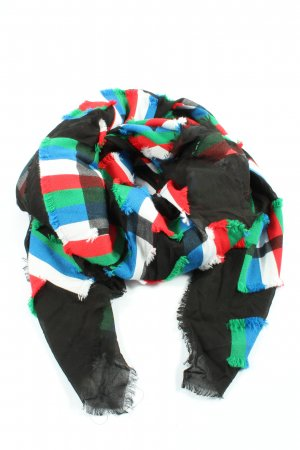 Riani Châle au tricot motif rayé style décontracté
