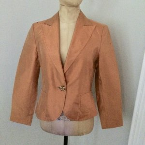 Riani Seiden Blazer orange Gr. 38