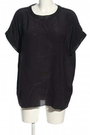 Riani Blusa in seta nero stile casual