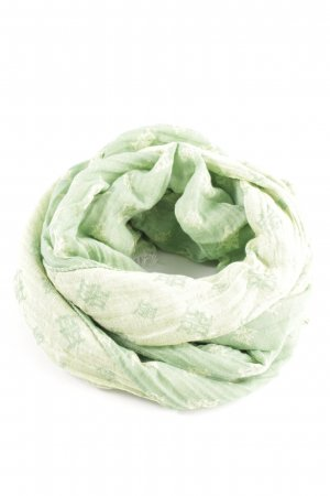 Riani Summer Scarf green-natural white themed print casual look