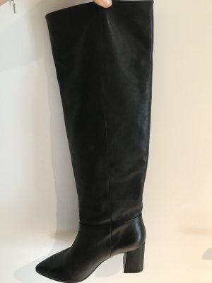 Riani Heel Boots black leather