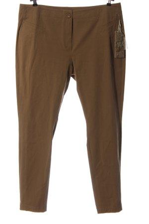 Riani Pantalone jersey marrone stile classico