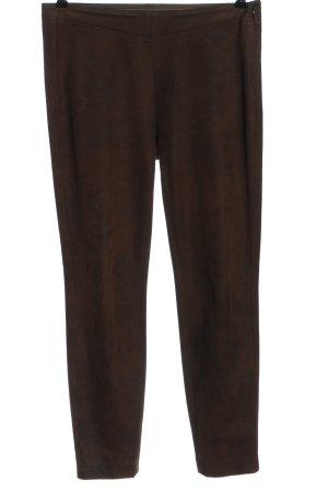 Riani Pantalone jersey marrone puntinato stile casual