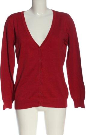 Riani Cardigan in maglia rosso stile casual