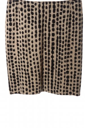 Riani Knitted Skirt natural white-black allover print casual look